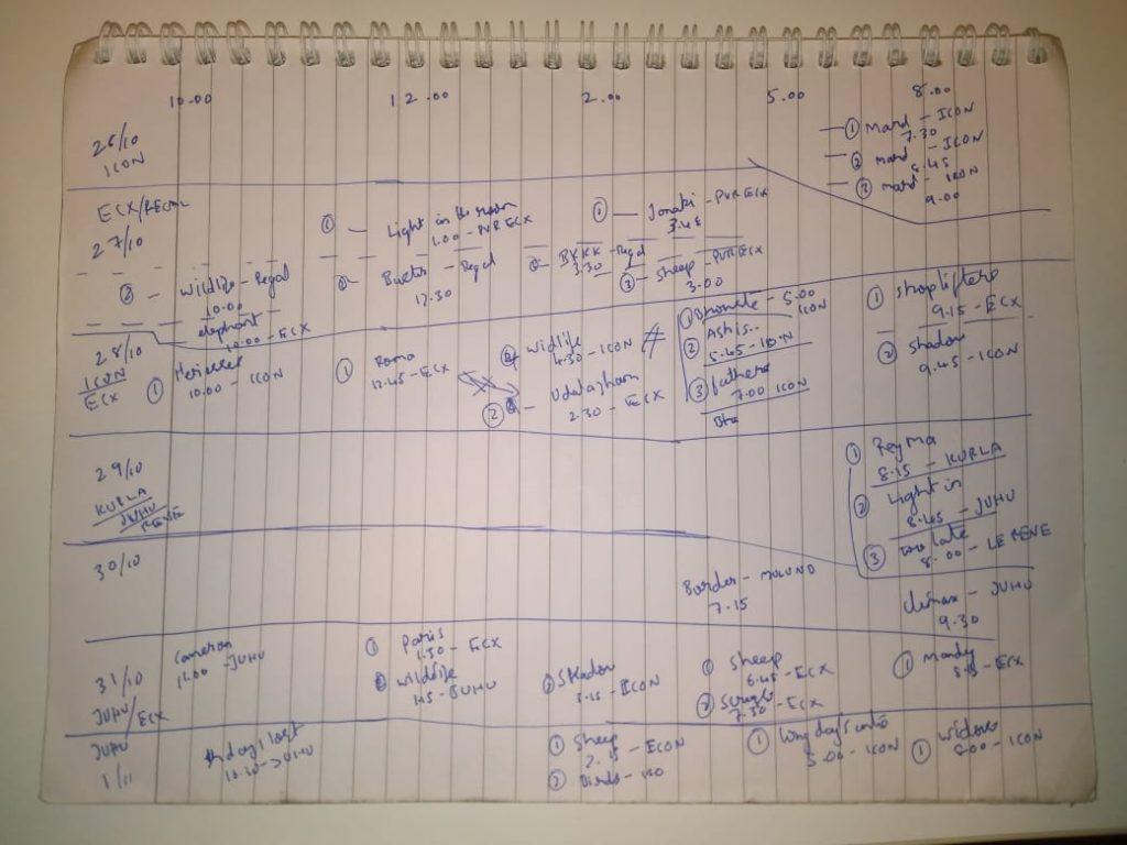 Mumbai film festival personal plan