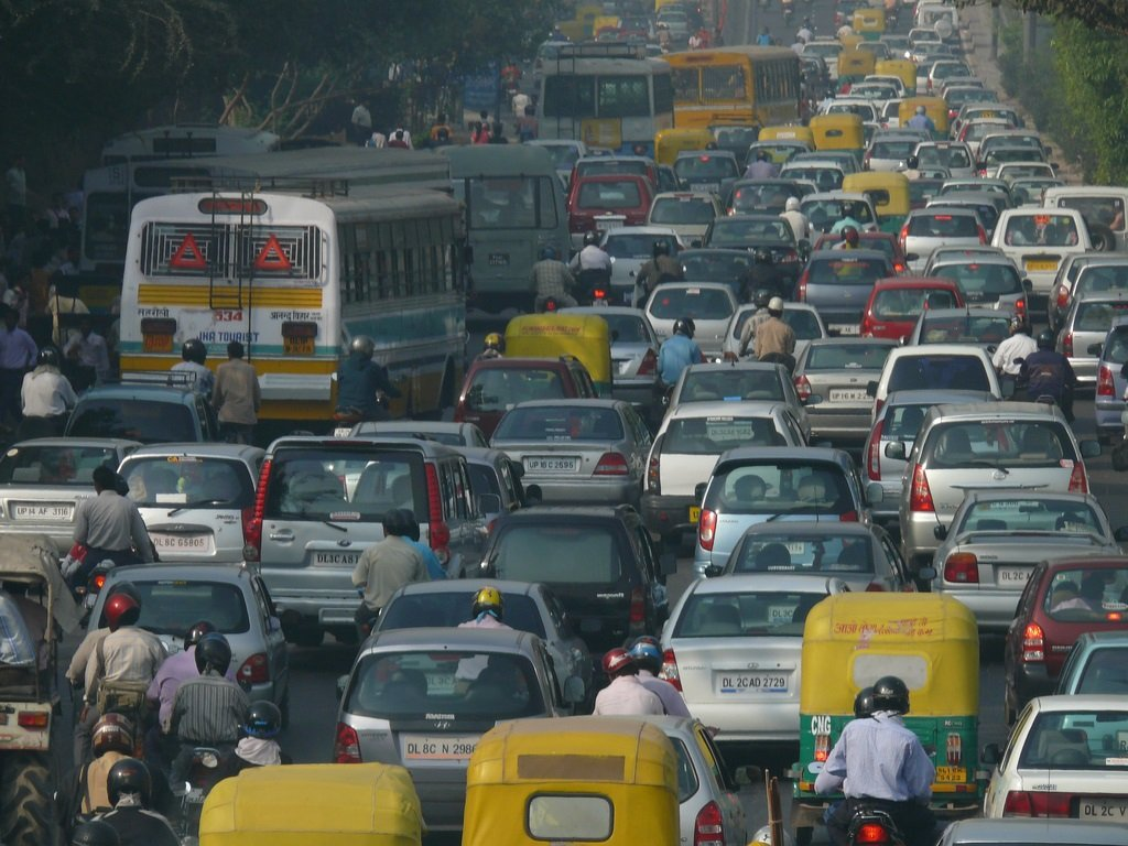 traffic noise in india