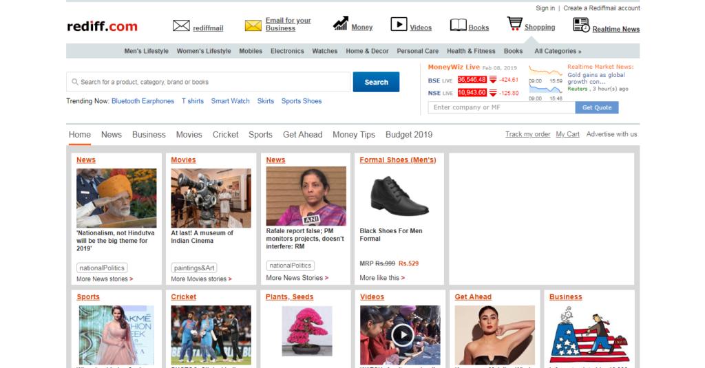 Rediff.com in 2009