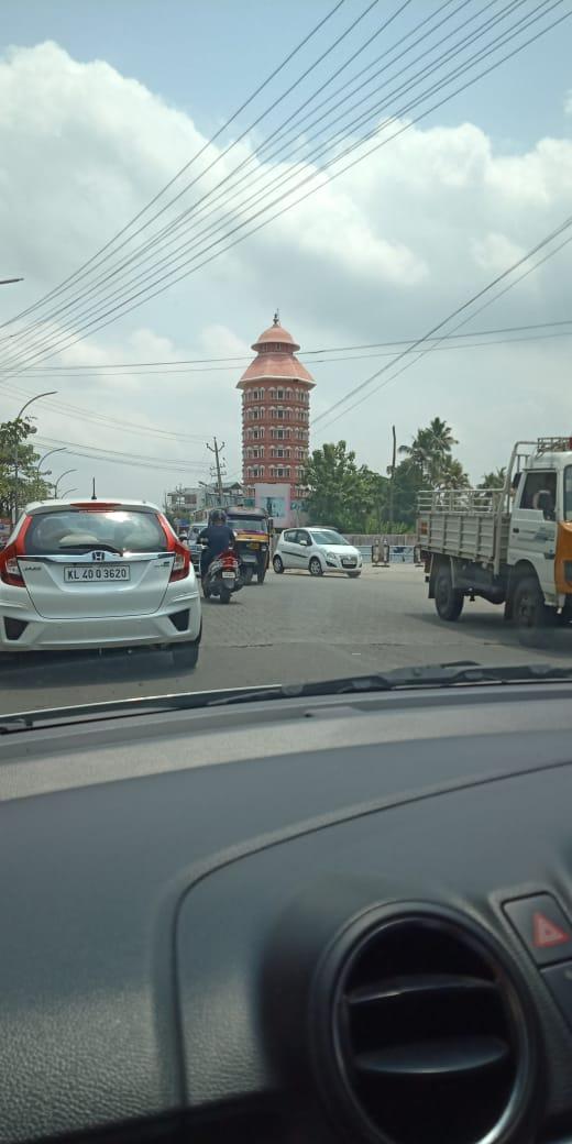 Kalady temple stupa