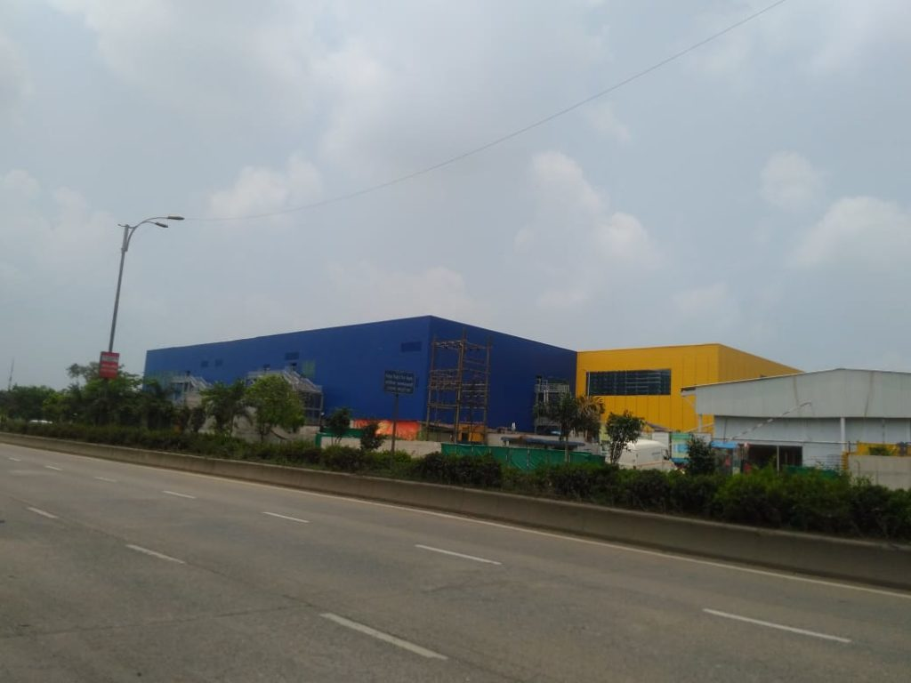 IKEA store in turbhe