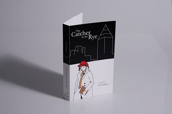 The Catcher in the Rye new book cover