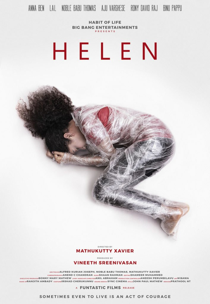 Helen Malayalam film poster